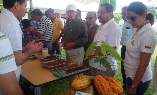 Feria de Ofertas tecnológicas del INIAP en Mocahe