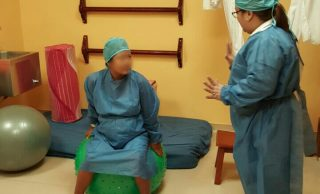 Alrededor de 75 embarazadas visitaron la nueva sala de parto humanizado del Hospital Nicolás Coto Infante de Vinces