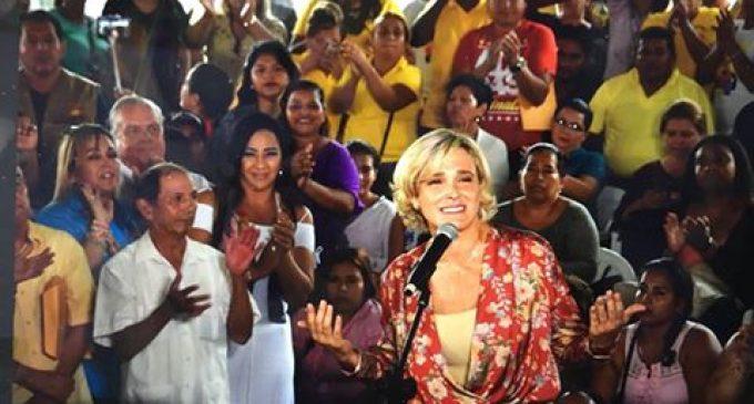 HOY EL BINOMIO CYNTHIA VITERI Y MAURICIO POZO REALIZARÁ CIERRE DE CAMPAÑA EN LOS RÍOS