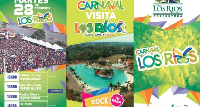 Prefectura tiene listo una variedad de eventos musicales para los festejos de carnaval