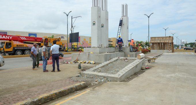 CONSTRUCCIÓN DE PASO ELEVADO AVANZA PROGRESIVAMENTE