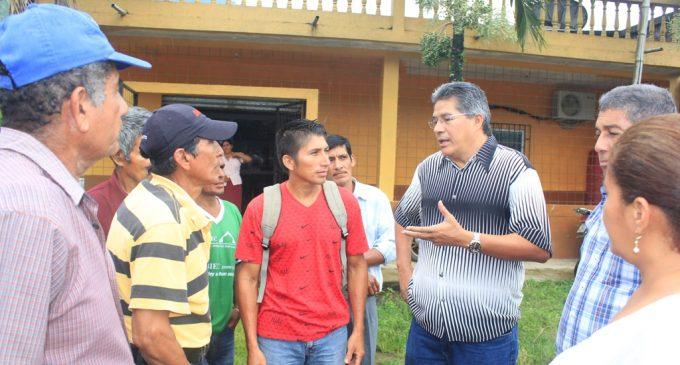 Prefectura construirá vía Barranco Colorado –Pasaje A y B en Ventanas