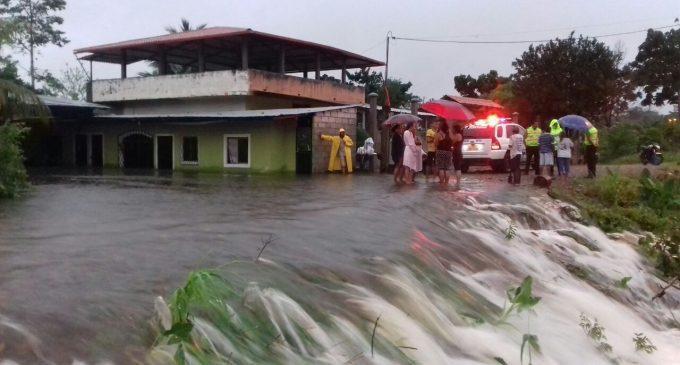 ECU 911 coordina acciones de atención en sectores afectados por lluvias en Shushufindi