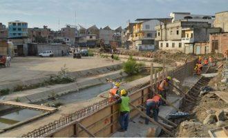 Ecuador suspende la construcción del muro en el Canal de Zarumilla