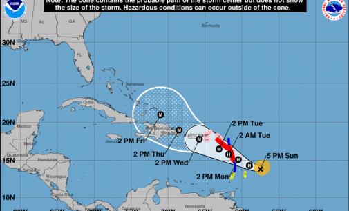 Maria ya es un huracán