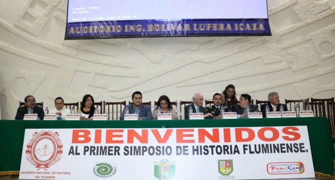 UTB SEDE DEL PRIMER SIMPOSIO DE HISTORIA FLUMINENSE