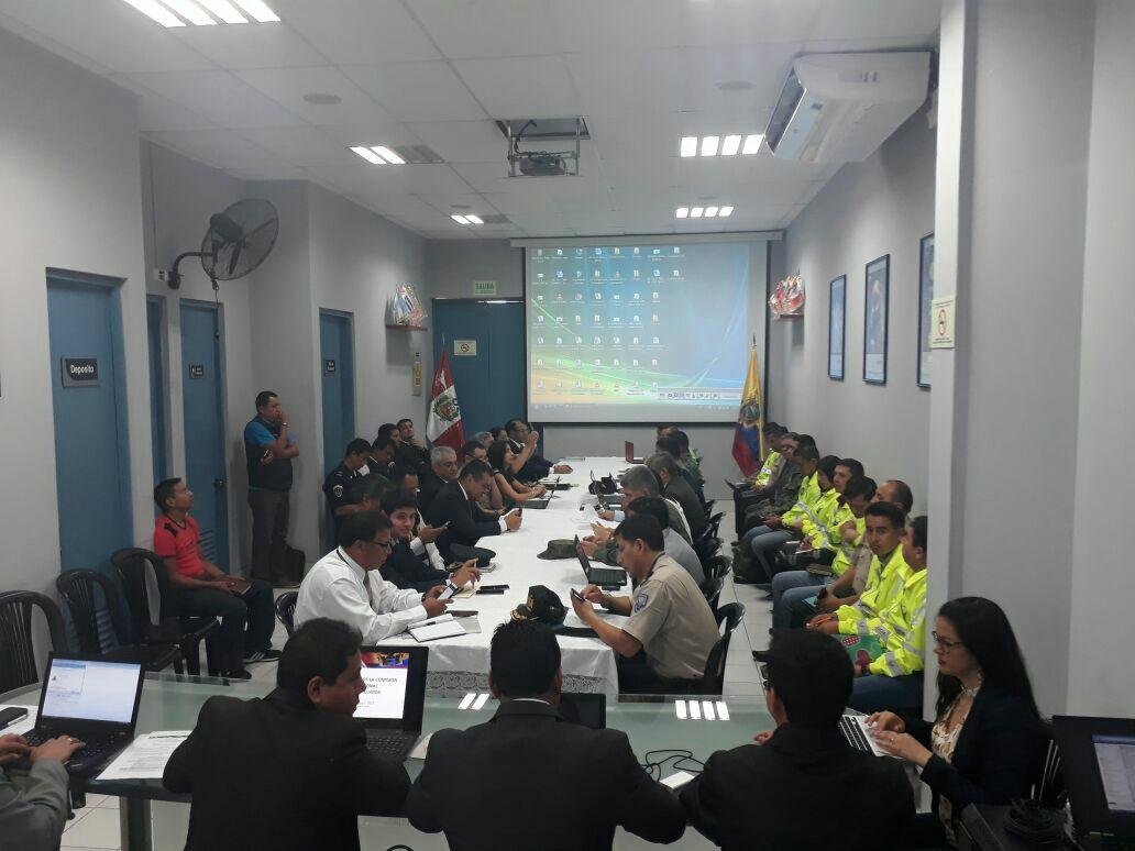 Ecuador y Perú coordinan acciones y estrategias de lucha contra el contrabando