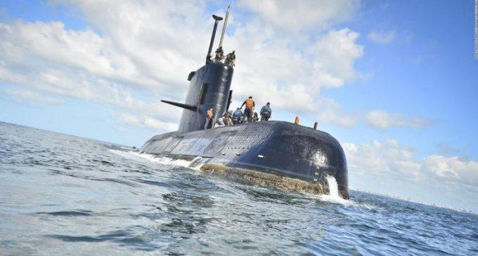 Armada Argentina confirma que hubo una explosión