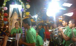 Barreiro celebra sus fiestas patronales con  procesión de Santa Rita De Casia