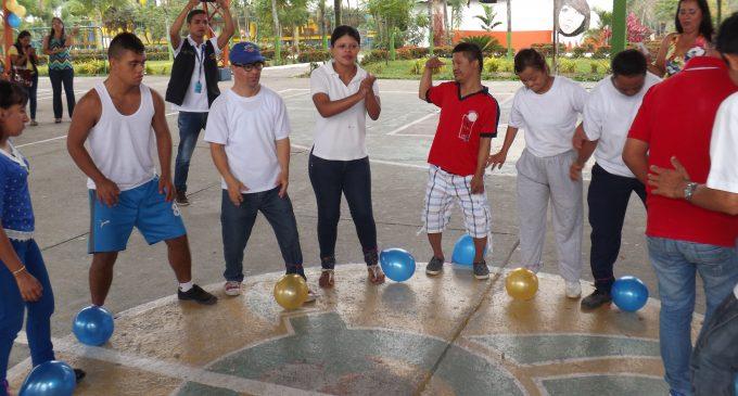 Personas con discapacidad del proyecto Cuenta Conmigo festejaron su día