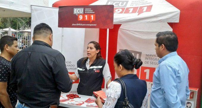 ECU 911 Babahoyo fortalece el buen uso de la línea 9-1-1 a través de actividades de vinculación con la comunidad