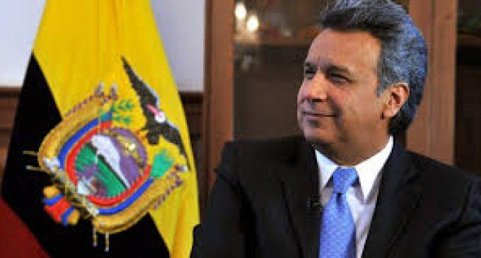 Presidente Moreno sufrió accidente doméstico y suspende dos días de agenda