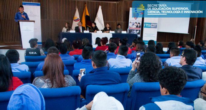 Los institutos tecnológicos superiores Central Técnico y Luis Napoleón Dillon impartirán talleres a 229 adolescentes infractores
