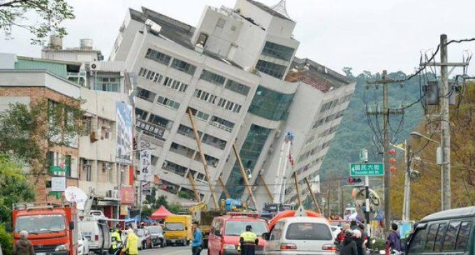 Terremoto en Taiwán deja al menos seis muertos y más de 200 heridos