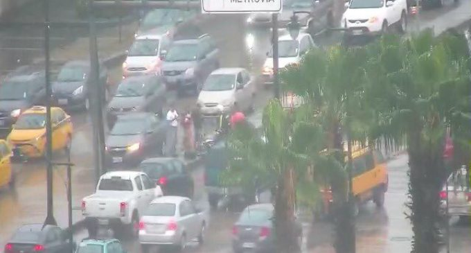 Accidente de tránsito al norte de Guayaquil