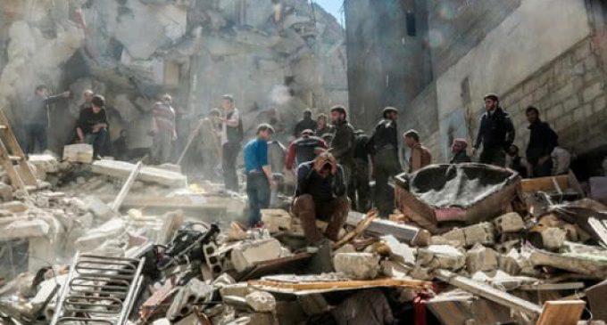 Doce muertos, entre ellos 5 niños, por bombardeos en Siria