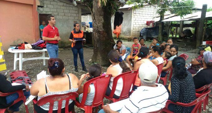 Gestión de Riesgos fortalece las capacidades de las comunidades afectadas por la época lluviosa en la provincia de Los Ríos