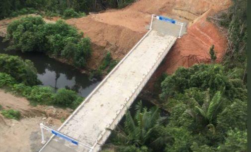 Fondos para el sismo se usaron para puente y vía de Mataje