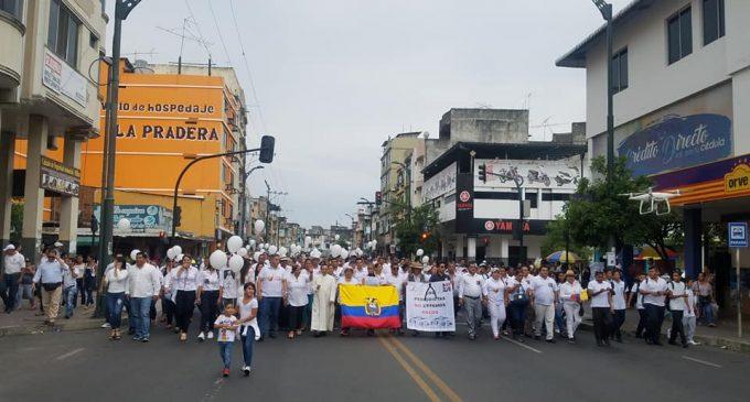 Prensa y sociedad civil caminan por La Paz