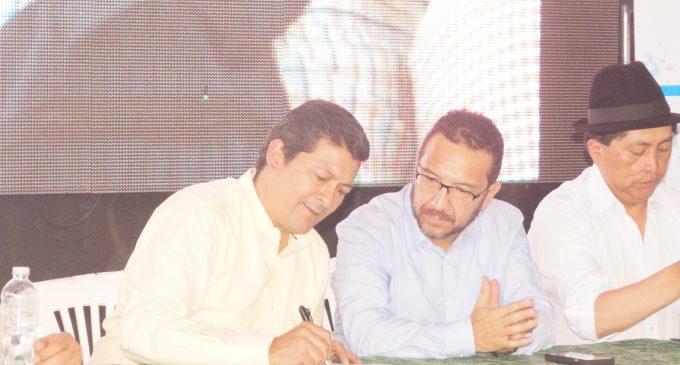 Se formó convenio para Plan Marstro de agua potable