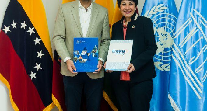 La Fundación Enseña Ecuador y UNESCO Quito firman convenio de cooperación por una educación de calidad en el país