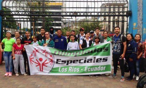 Jóvenes con discapacidad participan en Olimpiadas