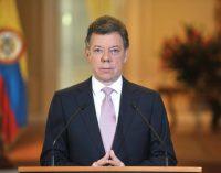 Santos confiesa atraso de Colombia en obras de frontera