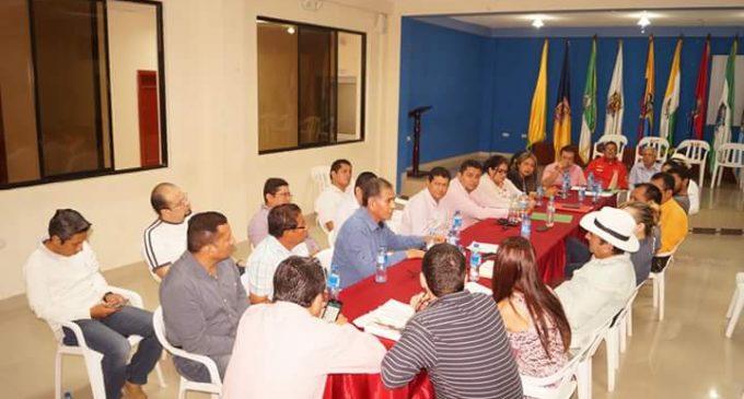 GAD de Valencia y La Maná mantuvieron reunión