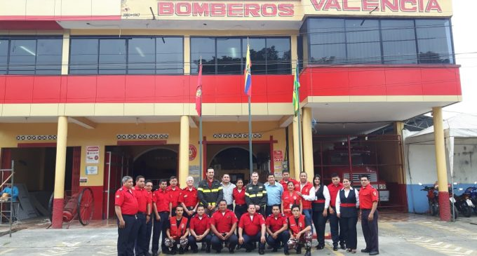 Bomberos de Valencia reciben capacitación