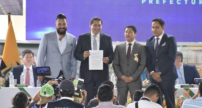 MTOP firmó rehabilitación de vía Ventanas-Piedra Grande