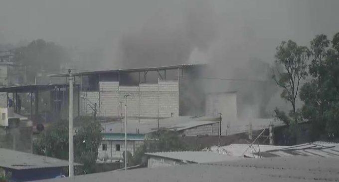 Incendio fue controlado por el ECU 911