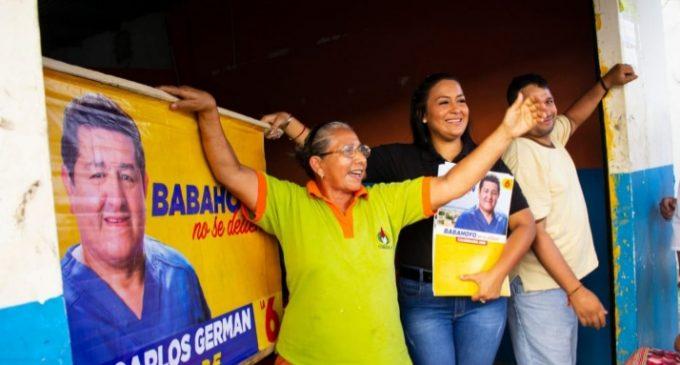 Carlos Gérman lleva sus propuestas a Barreiro Nuevo