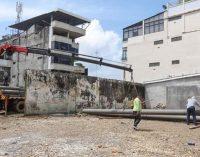 Avanzan trabajos en edificio del colegio Espejo