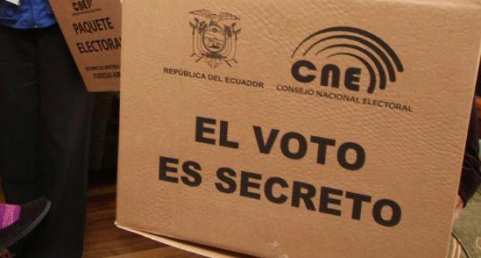 La división de votos se extendió a escala cantonal y provincial