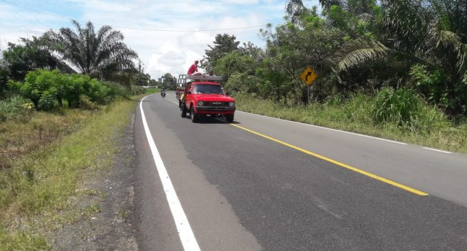 Prefectura entregó carretera Mocache_ Jauneche