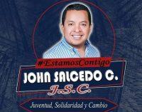 John Salcedo recibirá su acreditación de alcalde de Quevedo