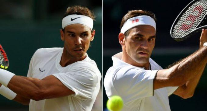 Nadal vs Federer en Wimbledon
