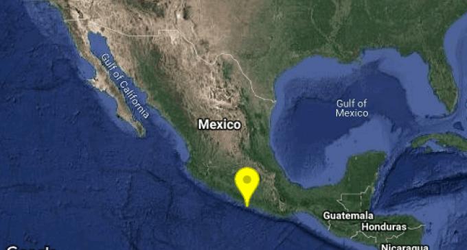 SISMO Magnitud 5 Loc  30 km al SUR de ACAPULCO