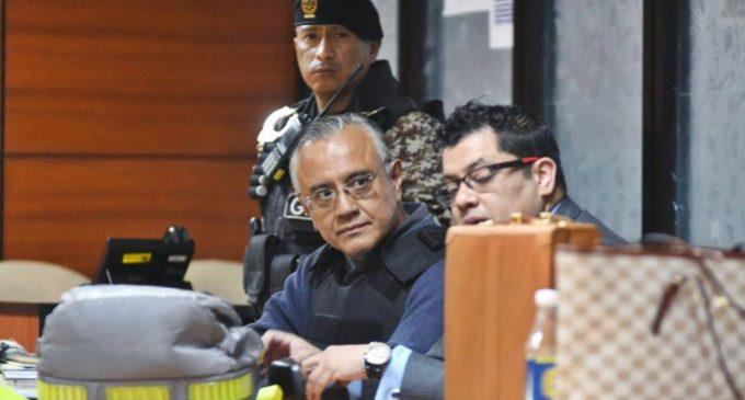 Alexis Mera sale de prisión