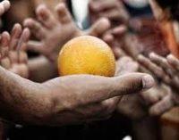 Se calcula que en el mundo existen entre 800 millones y 900 millones de personas que sufren hambre o que no comen tres veces al día.