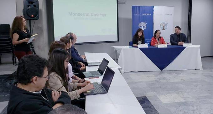 Calidad pedagógica, revalorización de docentes e inclusión, los ejes de trabajo de la ministra Monserrat Creamer
