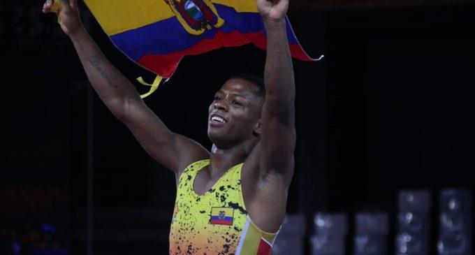 Quinto oro para Ecuador