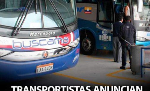 Paro nacional de  transporte