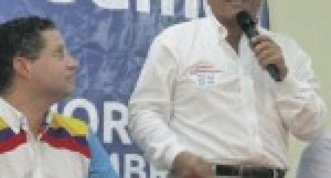 Mauricio Rodas oficializó pre candidatura de Jorge Zambrano a la alcaldía de Manta