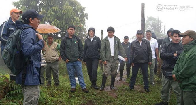 La DPNG y el PNSNG intercambiaron experiencias en manejo de áreas protegidas