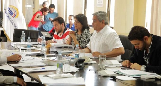 CNE dará más facilidad para inscripción de candidaturas