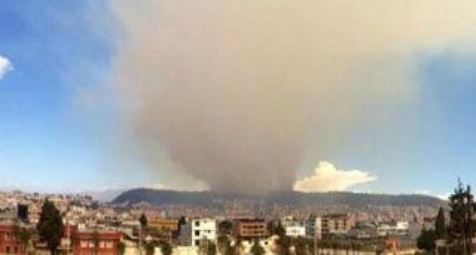 Gobierno recompensará a quien identifique responsables de incendios en Parque Metropolitano