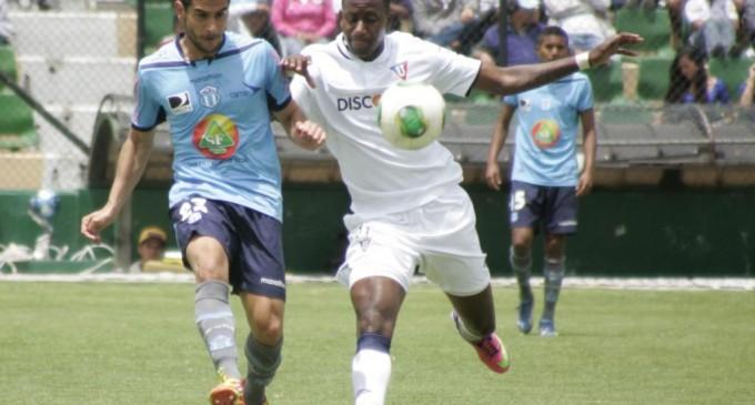Goleada de la Liga de Quito al Macará de Ambato