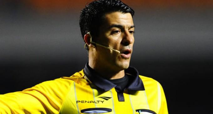 Brasileño Sandro Ricci dirigirá el encuentro de Ecuador ante Uruguay