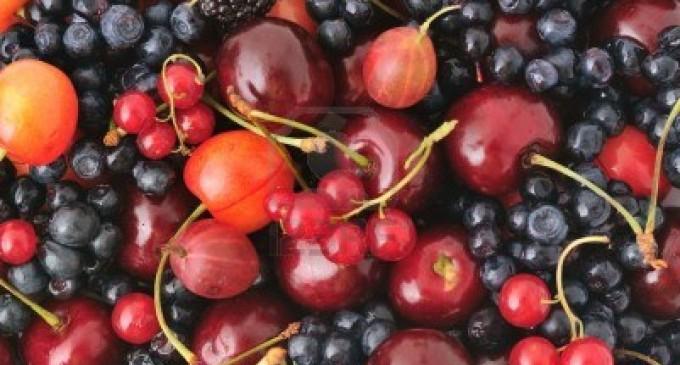 Las uvas rojas y los arándanos mejoran el sistema inmunitario